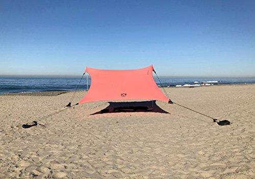 Tienda Neso Tents Grande Beach, 2,1 m (7 pies) de...