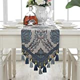 Axiba Runner European Luxury Modern Minimalist Tablecloth Christmas Party Wedding Decorations 32 * 180
