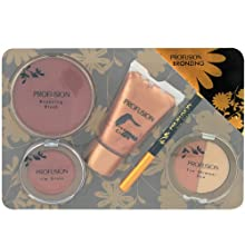 Coffret cadeau coffret maquillage palette de maquillage collection Bronzing - 6pcs