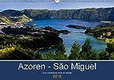 Azoren - São Miguel (Wandkalender 2018 DIN A3 quer): Azoren - São Miguel - unbekannte Perle im Atlantik (Monatskalende