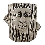 #8: Lasaki Tree King Ivory Ceramic Planter / Plant Pot / Bonsai Planter pot/ Pot Container / Flower Pot / Pot / Gamla / Gamle / Succulent Planter / Ceramic Handmade Pot