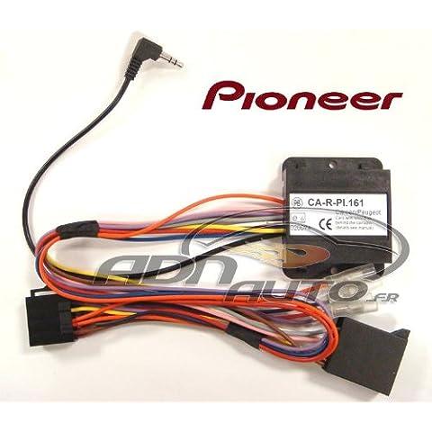 Pioneer - Adaptador para controlar la radio desde el volante para Citroen C2, C3, C5, C8, Picasso, Ulysse, Lancia Zeta, Peugeot 1007, 206, 307, 406,