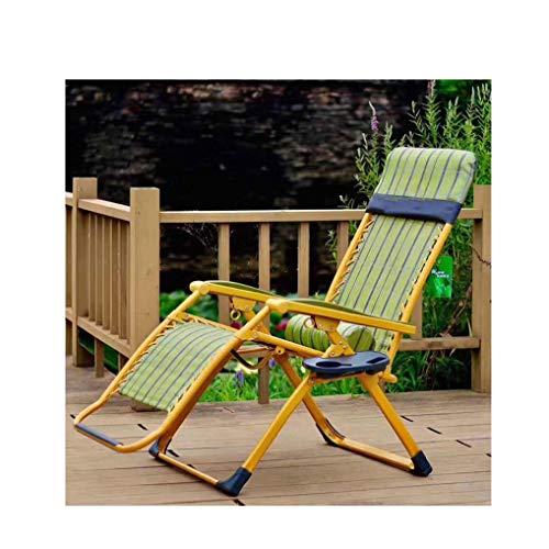 Deck Chair Basics Schwerelosigkeit Stuhl Faltbarer Verstellbarer Stuhl Mit Cup Mittagspause Stuhl Büro Schwangere Frau Stuhl Sun Stuhl Für Hof Veranda Patio Pool Untertasse Stuhl Faule Home Seating
