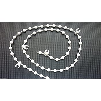 White Bottom Chain For 127mm 5 Quot Vertical Blinds 600