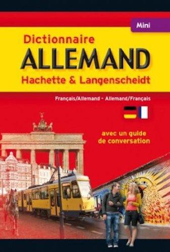 Mini Dictionnaire Hachette Langensheidt - Bilingue Allemand