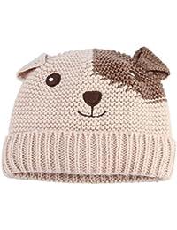 GEMVIE Chapeau Bonnet Naissance Garçon Bébé Crochet Cartoon Mignon Tricot Tour De Tête Automne Hiver Chaud