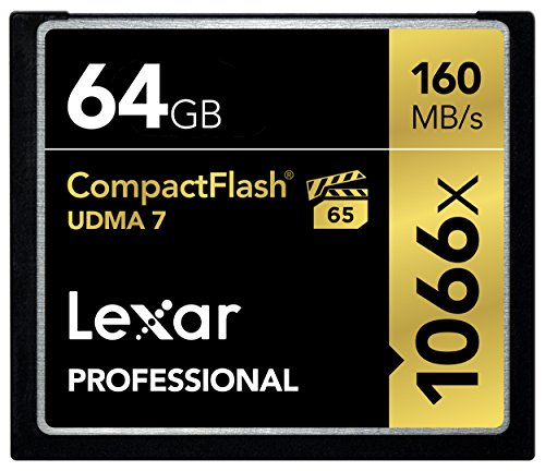 Lexar Professional 64GB 1066x Speed 160MB/s CompactFlash Speicherkarte