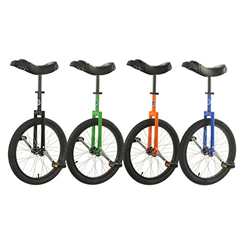20  Club Freestyle Unicycle with Black Tyre  Orange