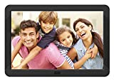 Digital Photo Frame 8 Inch Kenuo 1920x1080 High Resolution 16:9 Full IPS Display