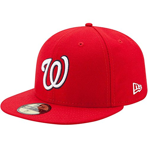 New Era 59Fifty Cap - AUTHENTIC Washington Nationals rouge