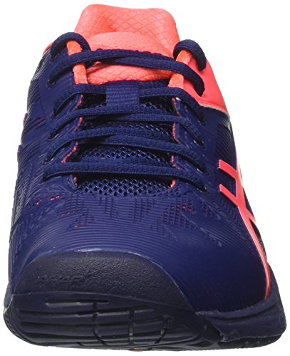 Asics Damen Gel-Solution Speed 3 Tennisschuhe Blau (Indigo Blue/diva Pink)