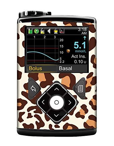Diabetes Vinyl Sticker Medtronic MiniMed - Leopard