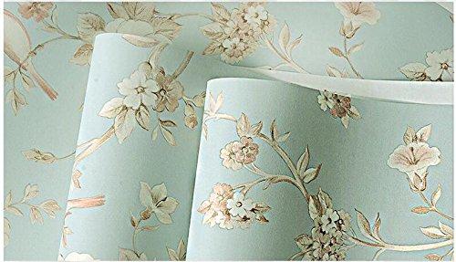 Preisvergleich Produktbild Wapea Hintergrundbild speichern Zimmer Wallpaper Einfache europäische Non-Woven Wallpaper 160103