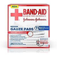 Johnson Pflaster & Medium Gaze PADS, 25mittel-steril Pads 7,6x 7,6cm 12Stück preisvergleich bei billige-tabletten.eu