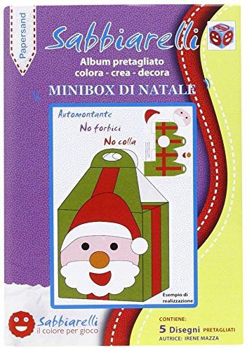 Sabbiarelli Album papersand Mini Box von Weihnachten Preisvergleich