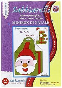 Sabbiarelli-Álbum papersand Mini Box de Navidad