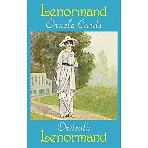 Lenormand Oracle Cards, 36 Cartes de Voyance avec Instruction Multilingue