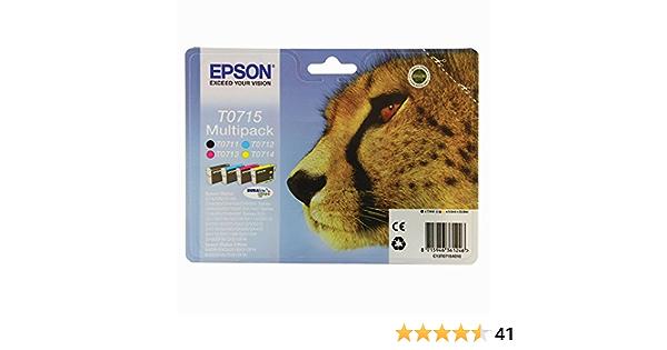 Epson T0715 Tintenpatronen Multipack 4 Farben Elektronik