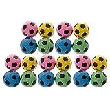 SimpleLife 20pcs Non-Bruit Chat eva Balle Mousse Souple Football Jouer des balles...