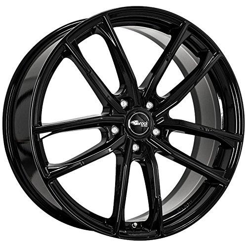 Brock B38 Alufelgen 8 x 18 5 x 112 Et35 Glossy Black