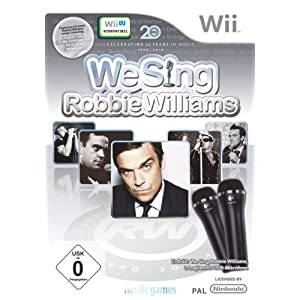 We Sing – Robbie Williams inkl. 2 Mikrofone