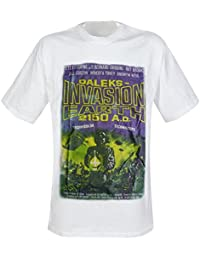 DOCTOR WHO T-Shirt Dalek Invasion - White - XL