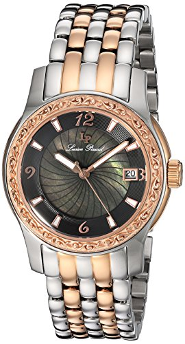 Lucien Piccard Womens Analogue Quartz Watch with Stainless Steel Strap LP-40029-SR-11-MOP
