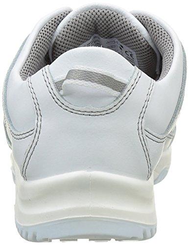 "Abeba 17195,79 cm (6770"")-15,24 cm (6"") Low-Scarpe da lavoro Bianco (bianco)"