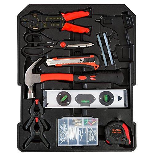 TecTake® 251 teiliger Werkzeugkoffer mit Werkzeug bestückt - 5