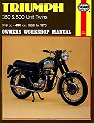 Triumph 350 & 500 Unit Twins 1958 - 1973 (Motorcycle Manuals)
