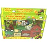 Toy Farmyard Play Set With Vehicles & Figures