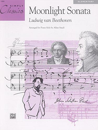 Ludwig Van Beethoven: Moonlight Sonata Piano (Simply Classics Solos)