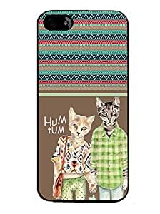 Printvisa 2D Printed Hum Tum Designer back case cover for Apple I Phone 4 / 4S - D4417