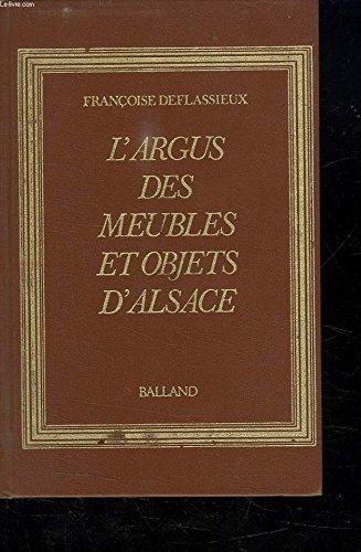 L'Argus des meubles et objets d'Alsace