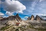 Poster 60 x 40 cm: DREI Zinnen Dolomiten Südtirol von