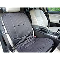 Cojin con calefacción PARA EL PASAJERO calienta con calor agradable y rápido MY SEAT HEATER TO GO muy adecuado para el dolor de espalda, con controlador de temperatura, para automóviles, SUV