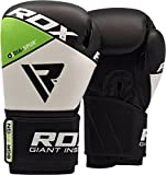RDX Boxsack Set Gefüllt Kickboxen MMA Muay Thai Boxen mit Stahlkette Training Boxhandschuhe Kampfsport Schwer 4FT 5FT Punching Bag - 4