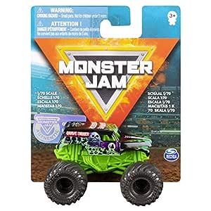 Monster Jam 1: 70 Single Pack- Plastic Truck Grave Digger for Boys 5+