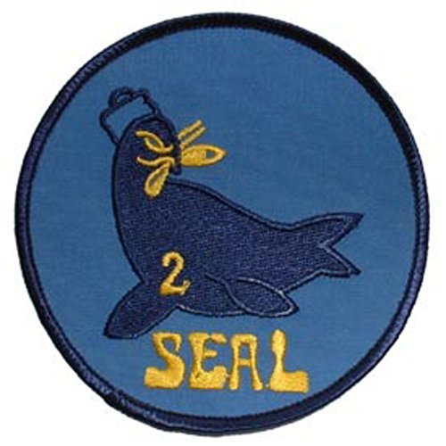 eagleemblems patch-usn, Seal Team, 02 (10,2 cm) Seal Team 2 Patch