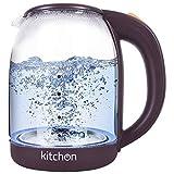 Best Glass Electric Tea Kettle - Kitchon KIKGL 1.8L 1500W Cordless Automatic Electric Glass Review