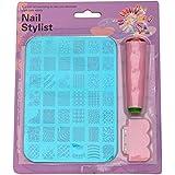 Royalkart XY14 Nail Art Stamping Kit Decoration Jumbo Image Plate Gift Girl Woman