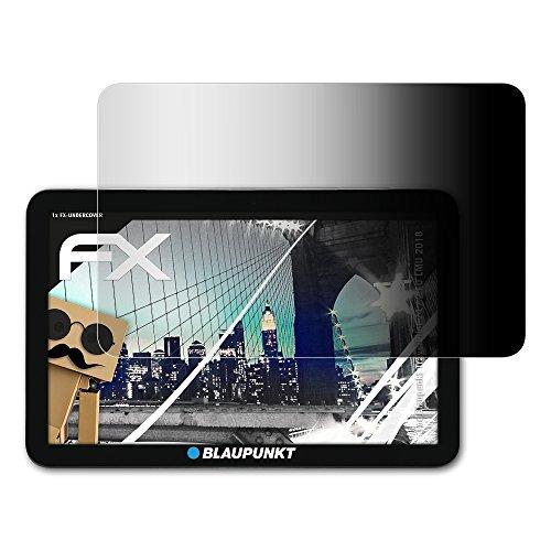 atFoliX Blickschutzfilter für Blaupunkt TravelPilot 74/2 EU LMU (2018) Blickschutzfolie - FX-Undercover 4-Wege Sichtschutz Displayschutzfolie
