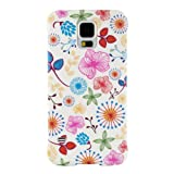 Anymode FABP010KA1 Booklet Case - Hard Case - Samsung Galaxy S5 mini - Flora White