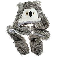 GEMVIE-Bambini Cappello Protezione dell'Orecchio Adulti Berretto Animale