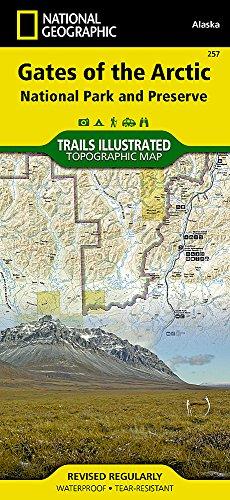 Gates of the Arctic: National Geographic Trails Illustrated Alaska (National Geographic Trails Illustrated Map, Band 257)