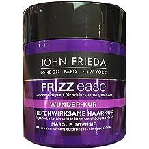 John Frieda Frizz Ease Tiefenwirksame Wunder Haarkur 150 ml Haarkur die trockenes, widerspenstiges Haar in perfekte Styles verwandelt