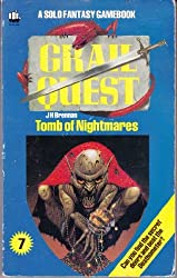 Grail Quest: Tomb of Nightmares Bk. 7 (A Solo fantasy gamebook)