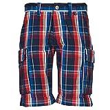 OXBOW TAKAROA Shorts Herren Marine/Rot - DE 38 (US 28) - Shorts/Bermudas