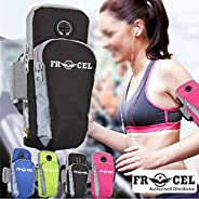 Frocel Sports Armband Pouch/Arm Belt - Universal Waterproof Hand Fitness Mobile Case for Running Hiking Joggin