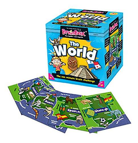 Imagen 5 de Green Board Games BrainBox The World - Juego de preguntas sobre el mundo (en inglés)